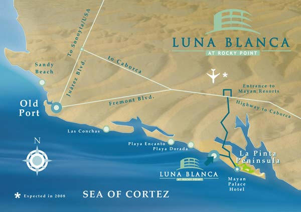 Luna Blanca At Rocky Point Brought To You By Rocky Point