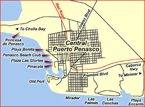 Princesa De Penasco Luxury Condominium Rentals By The Sea